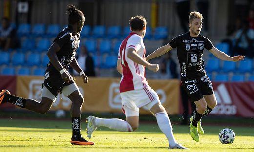 SOCCER - WAC vs Ajax, test match