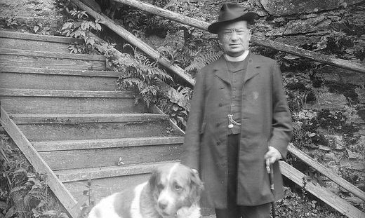 """Ottokar Kernstock. Das Foto entstammt dem Ueberreuter-Buch """"Steiermark in alten Ansichten"""" von Hans Petschar und Herbert Friedlsmeier"""