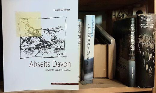 """""""Abseits Davon - Gedichte aus den Einöden"""", Harald W. Vetter, Verlagshaus Hernals, 2019"""
