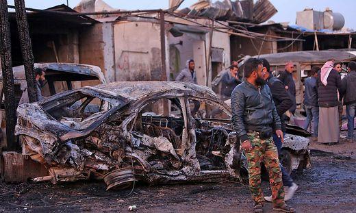 Nordsyrien: Explosion einer Autobombe