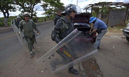 Venezuela Polizei