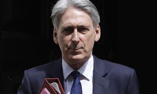 Großbritanniens Finanzminister Philip Hammond