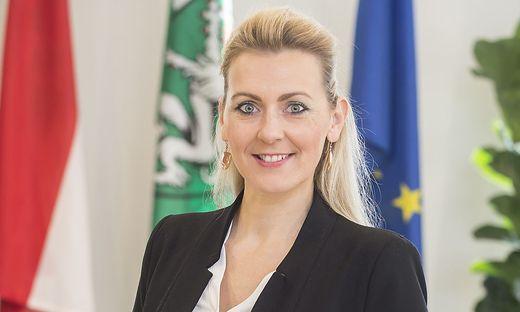Christine Aschbacher, die neue Ministerin für Arbeit und Familie