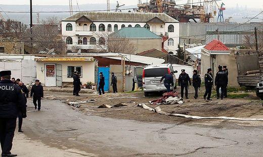 Mindestens 24 Tote bei Brand in Drogenklinik in Aserbaidschans Hauptstadt Baku