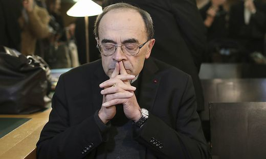 Kardinal Philippe Barbarin muss sich wegen Vertuschung verantworten