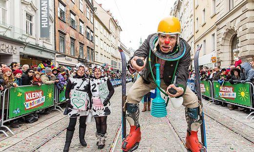 Faschingsumzug der Kleinen Zeitung in Graz