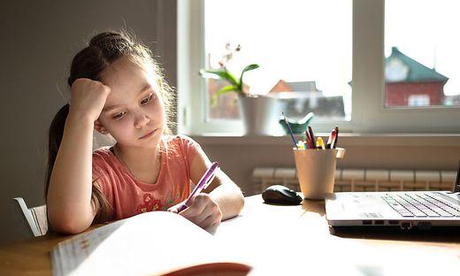 Distance Learning: Ohne richtige die Unterstützung haben es die Kinder schwer