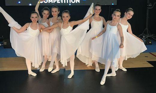 In Kroatien waren die Tänzerinnen der Tanzakademie Adler-Wiegele erfolgreich