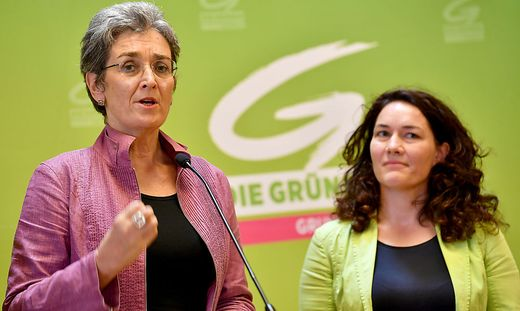 Ulrike Lunacek (links) und Ingrid Felipe