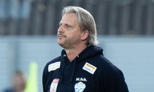 Markus Schopp glaubte bis zum Schluss an seine Mannschaft
