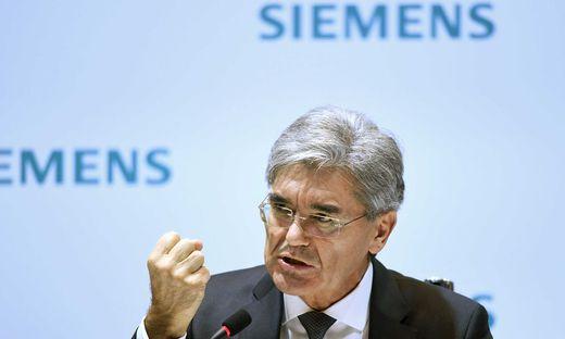 Siemens-Boss Joe Kaeser