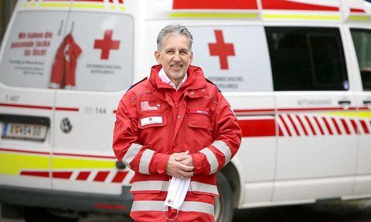 """Herbert Sager, Bezirksstellenleiter des Roten Kreuzes in St. Veit: """"Ich bin sehr stolz auf unsere Mitarbeiter"""""""