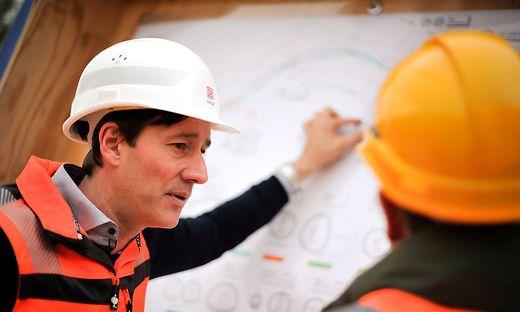 Christoph Lienhart verantwortet Baulos für zwei Milliarden Euro