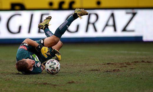Jörg Siebenhandl kritisierte den Rasen im Sturm-Stadion