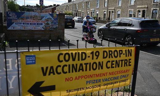 Auch Großbritannien versucht, die Impfquote anzuheben