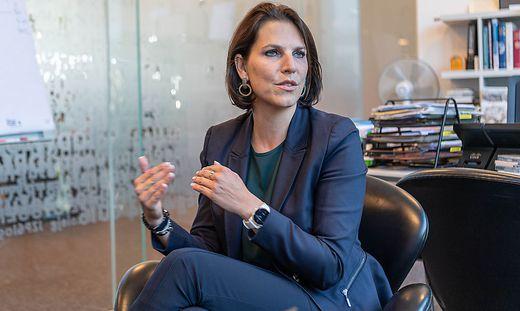 Karoline Edtstadler, österreichische Bundesministerin für EU und Verfassung