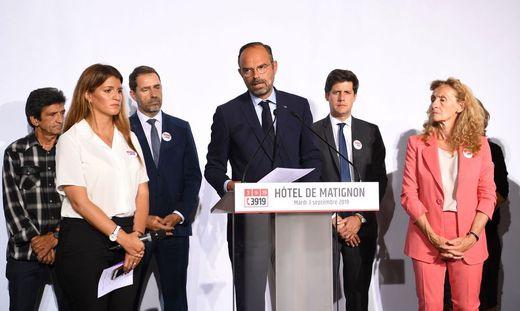 FRANCE-POLITICS-VIOLENCE-WOMEN