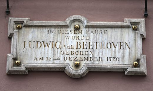 Beethoven-Orte - Bonn