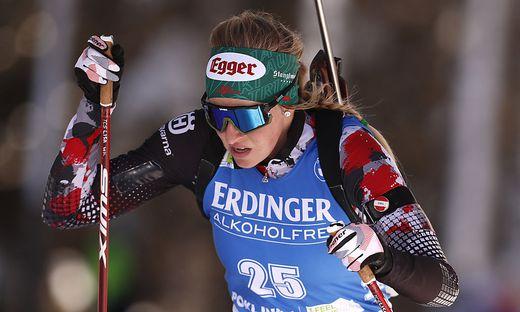 Lisa Hauser wurde im WM-Einzelrennen Vierte