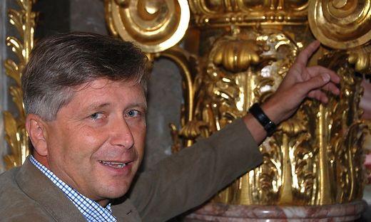 Lambert Gahbauer, 27 Jahre lang Stiftsbaumeister in Admont