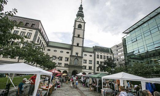 Flohmarkt Altstadtzauber Klagenfurt August 2017