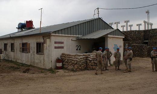 Golan-Einsatz des oesterreichischen Bundesheeres