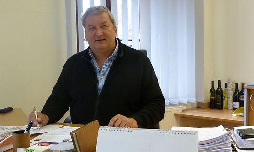 Bürgermeister Franz Labugger sitzt mittlerweile nicht mehr in seinem Büro, sondern macht Homeoffice