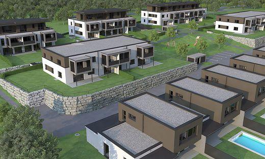 So werden die neuen Wohneinheiten in der Dr. Lorenz-Böhler-Straße aussehen