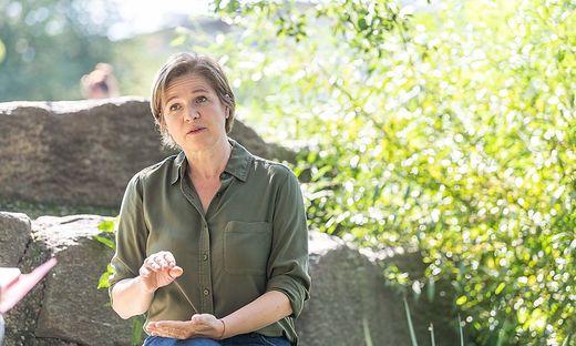 Die Grazer Grünen-Chefin Judith Schwentner
