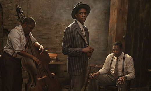 "Chadwick Boseman in ""Ma Rainey's Black Bottom"""