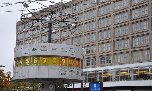 Am Alexanderplatz in Berlin wurde eine tote Frau gefunden