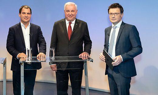 Schützenhöfer und Schickhofer mit ORF-Neger