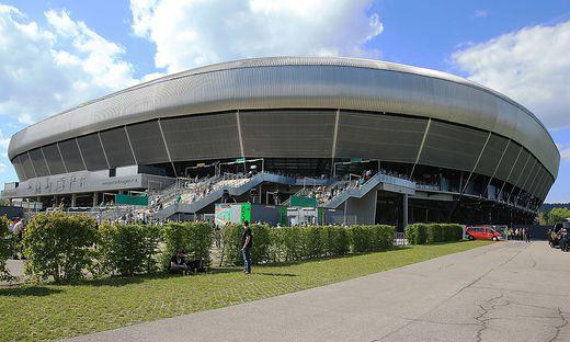 Das Stadion in Klagenfurt