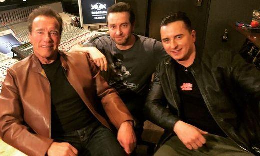 Andreas Gabalier und Arnold Schwarzenegger: Duett!