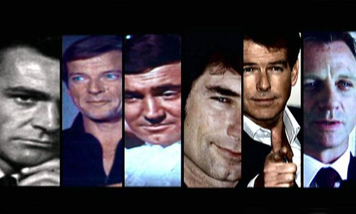 Die vielen Gesichter des James Bond