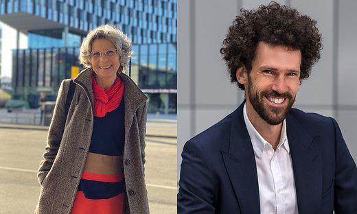 Elfriede Schalk und Gerhard Prossliner
