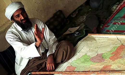 Osama bin Laden auf einem Foto von 1998