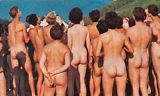 Die Freikörperkultur wurde erst in der Nachkriegszeit richtig populär