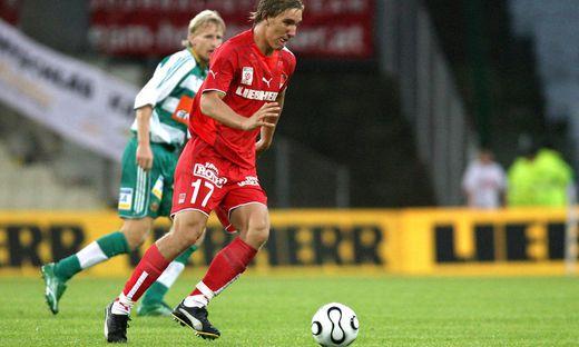 FUSSBALL - BL, Rapid Wien vs GAK Graz
