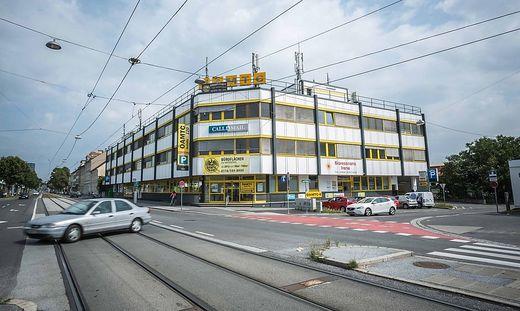 Grau in Grau in der Conrad von Hötzendorf Straße