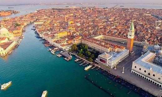Die Giardini Reali im Herzen Venedigs