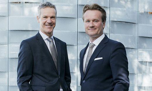 Christian und Georg Knill