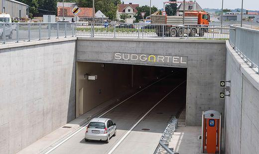 Beide Tunnelröhren des Südgürtels werden gesperrt