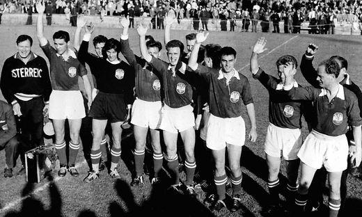 100 JAHRE OEFB: OESTERREICH BEI FUSSBALL-WM 1954