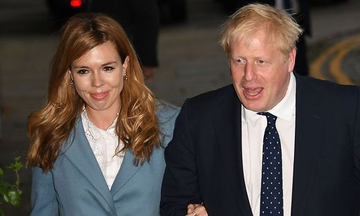 Carrie Symonds, Boris Johnson