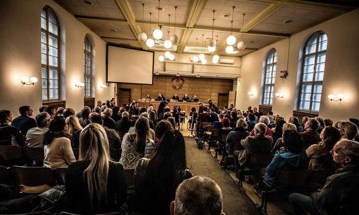 Bei keinem Prozess am Landesgericht Klagenfurt gab es mehr Zuseherinteresse als beim Frauenbanden-Prozess