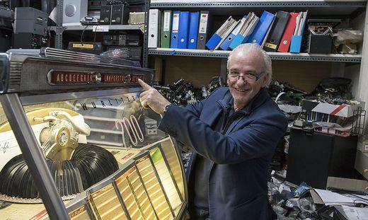 Sepp Eisenriegler eröffnet Geschäft in Graz