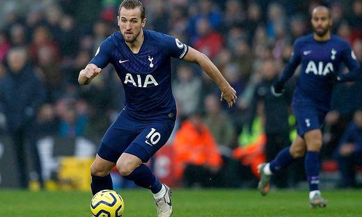 Tottenham muss die kommenden Wochen auf Harry Kane verzichten