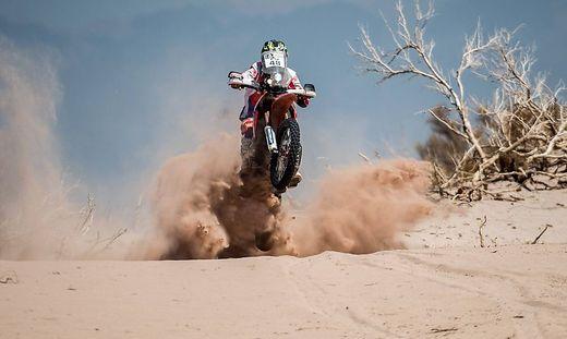 Bilder des Tages SPORT Rallye Dakar Etappe 10 Belen Rioja Rally Dakar 2016 BEL N ARGENTINA