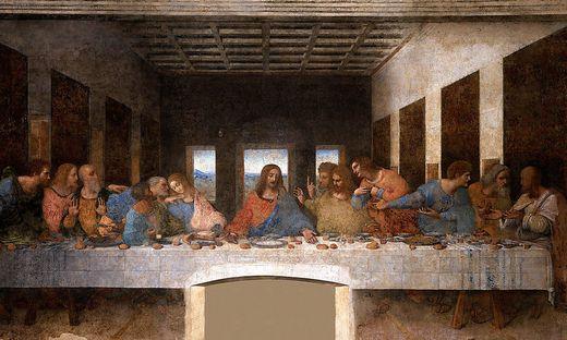 Es gilt als Meisterwerk der Kunstgeschichte: Das letzte Abendmahl von Leonardo da Vinci